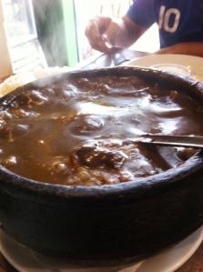 Molho Pardo do Restaurante Raimundo Sem Braço em Biribiri
