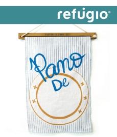 Refúgio Design Pano de Prato