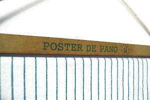 Detalhe Postes de Pano - pano de prato Refúgio Design