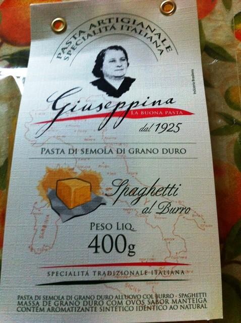 Massa Giuseppina da Vilma sabor manteiga