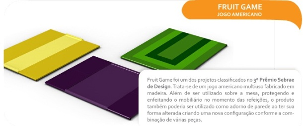 Fruit Game da Voglio Design